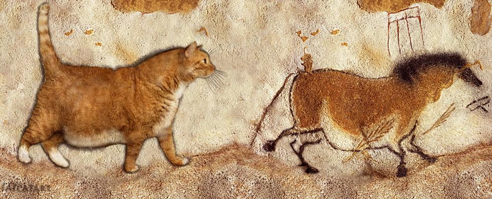 Grotta di Lascaux, Incisione rupestre di Zarathustra