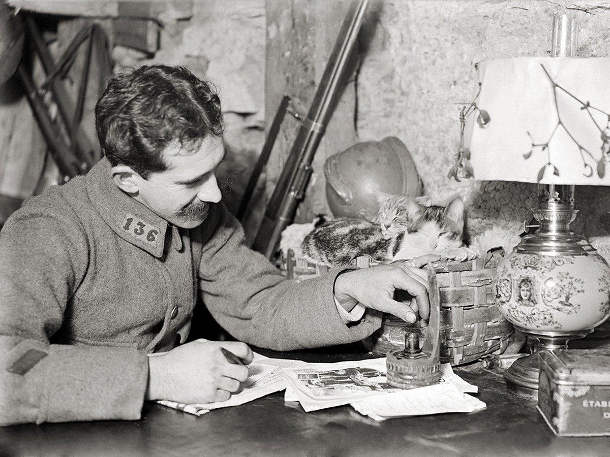 Soldato francese, 1916