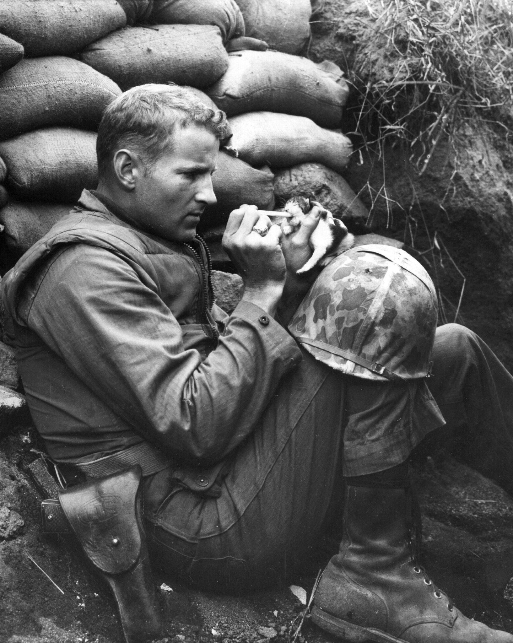 Soldato americano, Corea, 1952
