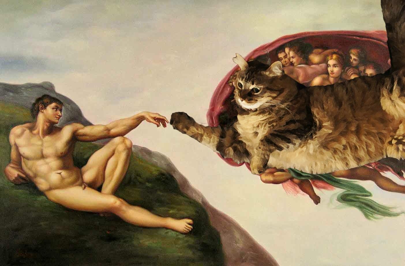 Il gatto divenne un dio